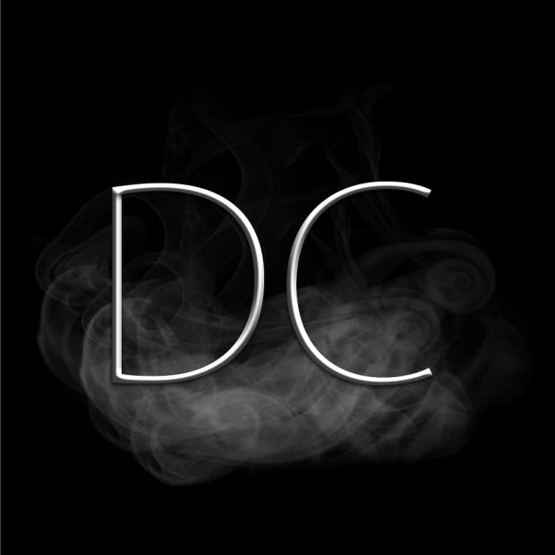 DC fundo preto