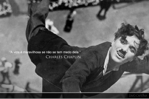 Charles Chaplin pensamentos