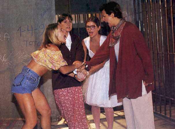 Letícia, Elizabeth, Cristiana e Betty