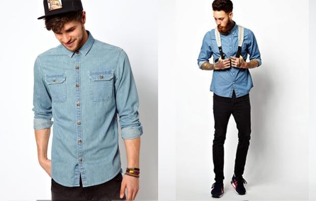 camisa jeans divo